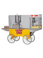 Commercial Popcorn Popper Machine Maker Caramel Merchandiser 2627