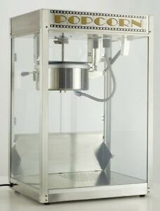 Commercial Popcorn Machine Maker Silver Screen 8 Oz Popper 11087