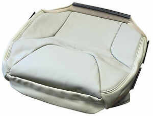 Volvo S60 05 Frnt Seat Cover Leather Upholstery Soft Beige Code C910 39988394