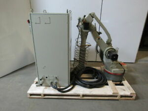 Yaskawa Motoman Sk16 Robot Package Arm Controls Pendant Cables