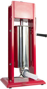 Vivo Sausage Stuffer Vertical Dual Gear Stainless Steel 5l 11lb 11 Pounds Meat