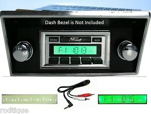 1980 1986 Ford Truck Radio W Ipod Dock Free Aux Cable 630 Ii Stereo