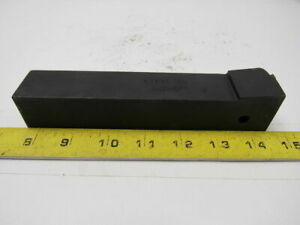 Carboloy Ctfpl 20 5 1 1 4 Shank Indexable Lathe Tool Holder 7 Oal Left Hand