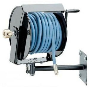 Pressure Washer Hose Reel With Mounting Bracket 250 Feet