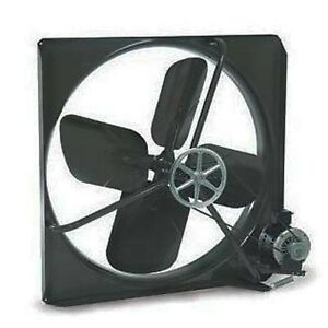 Exhaust Fan Commercial Belt Driven 30 115 Volts 9 500 Cfm 605 Rpm