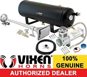 Truck Trumpet W Cover Train Sound Air Horn Full System Kit 3g Tank Compressor