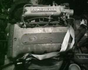 Kia Motor Engine 1 8 Dohc 85k Miles From A 1999 Sephia Used Whole Parts Or Head