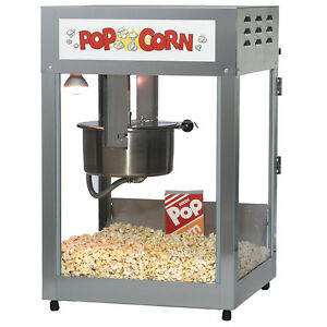 Commercial Popcorn Machine Gold Medal 12 14oz 2552