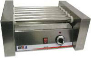 Hot Dog Roller Grill Cooker 10 Hotdogs Hot Dog Stand