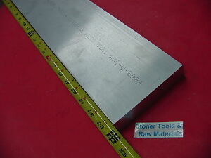 1 1 4 X 6 Aluminum 6061 Flat Bar 24 Long Solid 1 25 Plate New Mill Stock