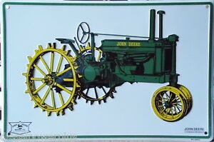 John Deere Quality Equipment Sign Picture Vintage Man Mom Cave Field Cabin Shop