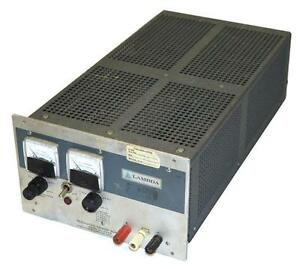 Lambda Lh 122 Regulated Power Supply Output 0 20 Vdc 0 5 7 Amps