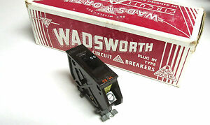 New Wadsworth Circuit Breakers 50a 1p Type A50 box Of 10 Yh 416z
