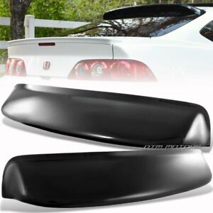 For 02 06 Acura Rsx Dc5 Type r Style Black Rear Roof Window Visor Spoiler