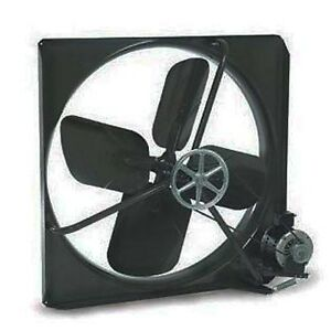 Exhaust Fan Commercial Belt Driven 48 115 230 Volts 11 Amps 410 Rpm