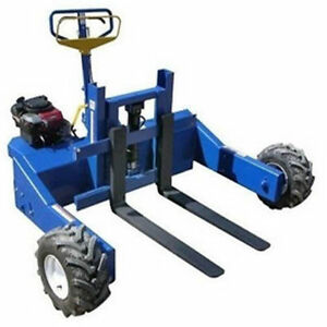 Pallet Truck And Jack Self Propelled 4 000 Lb Capacity Industrial Grade