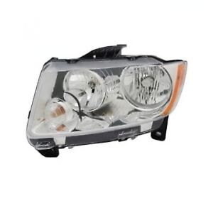 Jeep Grand Cherokee 2011 2012 Headlight Head Light Front Lamp Left Driver