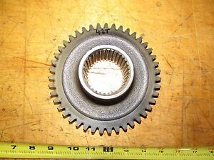 International 574 Tractor Syncro Mesh Transmission Gear 43 Tooth 34 Spline
