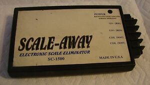 Scale away Sc 1500 Electronic Scale Eliminator