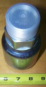 Parker 10178 24 24 Hydraulic Crimp on Fitting Npt