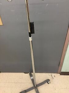 Iv Pole On Rolling Stand With 4 Legs