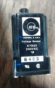 Ics Inc K7833 Voltage Sensor Relay 240vac Single Phase