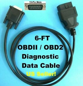 Actron Scanner Code Reader Obd2 Obdii Can Cable For Cp9180 Cp9185 Cp9190 Cp9690