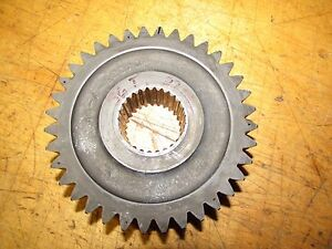 International 574 Tractor Syncro Mesh Transmission Gear 36 Tooth 27 Spline Pto