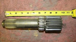 International 574 Tractor Planetary Gear Drive Shaft 9 Long