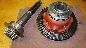 International 574 Tractor Ring Pinion And Carrier Assembly W Diff Lock