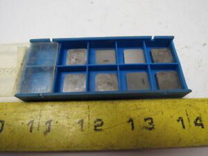 Valenite Snc 424 35m Carbide Inserts Tool Cutter Lot Of 8