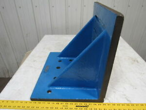 16 x20 x18 Giant Webbed Cast Machinist Slotted Set Up Angle Plate