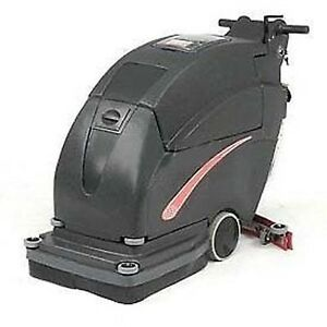 13 Gal Auto Floor Scrubber 200 Rpm Clean Width 20 Two 105 Amp Batteries