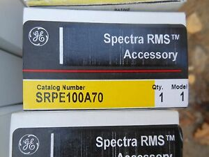 Ge Spectra Srpe100a70 70amp Circuit Breaker Rating Plug New In Box Warranty