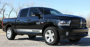 2009 2018 Dodge Ram 1500 Graphics Ram Rocker Strobe Side Decal Stripe 3m Pro Kit