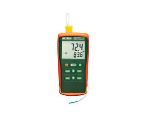 Extech Ea11a Contact Thermometers Types Rtd thermocouples Accepted K
