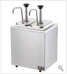Syrup Rail Server Sr 2 82910 W Stainless Steel Pumps