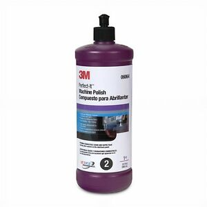 3m 06064 Perfect it Machine Polish Automotive Detailing Compound quart