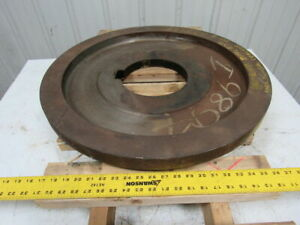 American Pulverizer 233939 Coal Cracker End Disc Fcc 4 25 1 2 Od X 2 3 8 Thick
