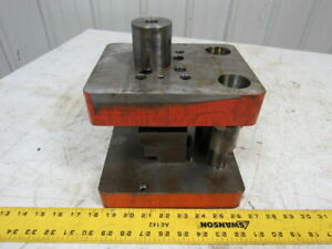 Punch Press Die Set shoe Rectangular 2 Post 6 1 2 w 8 1 4 fb 6 1 4 Throat