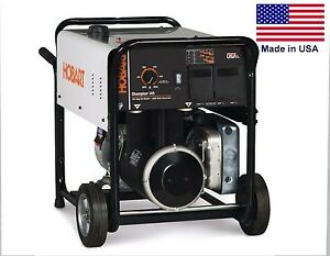 Portable Generator Welder 4500 Watts 145 Amp Dc Weld 6 Gallon Cap More