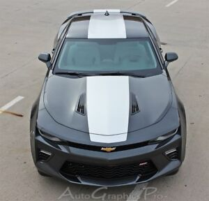 Overdrive 2016 2018 Chevy Camaro Ss Rs Stripes Vinyl Graphics 3m Wet Install
