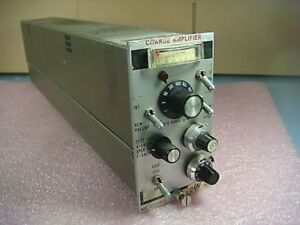 Unholtz Dickie D22 Series Charge Amplifier Model D22pmjlo