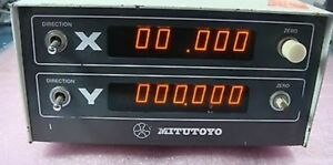 Mitutoyo X Y 164 725 Model Erc 1601w Digital Readout Display Unit