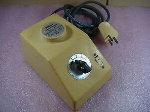 Nikon Japan Model Sn Transformer 3 To 8 Volt Secondary 2 5a 220 240v Vintage