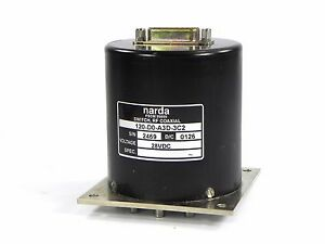 Narda 120 d0 a3d Switch Rf Coxial Dc To 12 4 Ghz Sp6t 50 Ohm Opt 3c2 28v