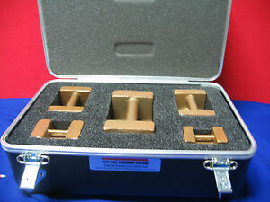 Rice Lake Weighing Systems carrying storage Case Calibration Weights
