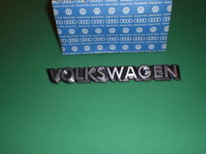 Gen Vw Mk2 Golf Jetta Quantum Nos Vw Hatch Badge New