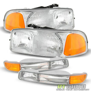 1999 2006 Gmc Sierra Yukon Xl Headlights Signal Corner Parking Bumper Lights