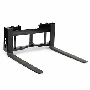 Titan Skid Steer 36 Pallet Fork Trailer Hitch Attachment Bobcat Case Kubota